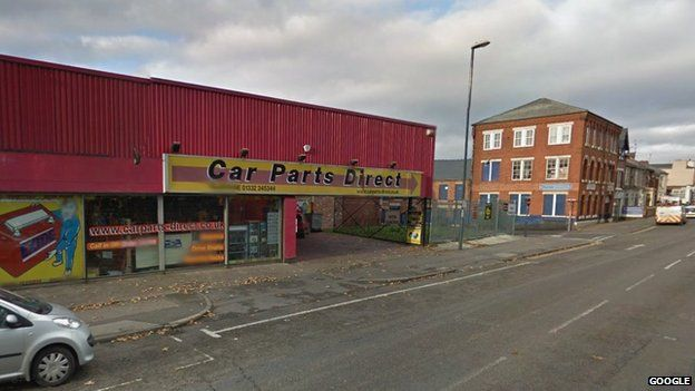 Burton Road in Derby