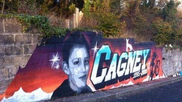 Cagney O'Brien memorial