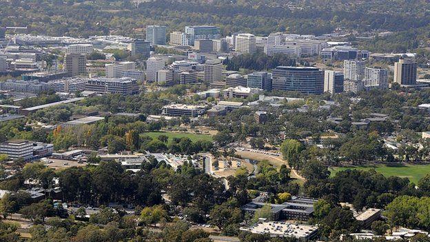 Canberra (file image)