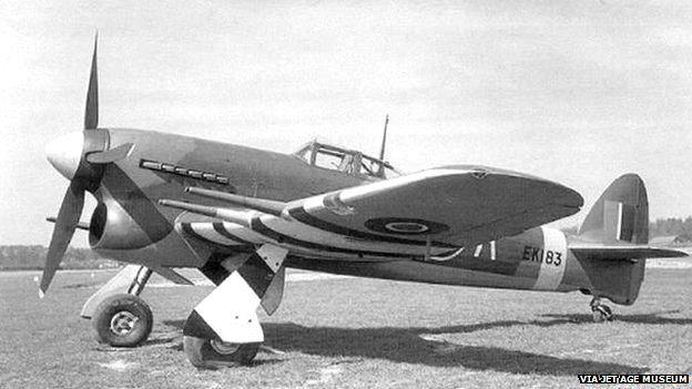 Hawker Typhoon Mark 1a/1b