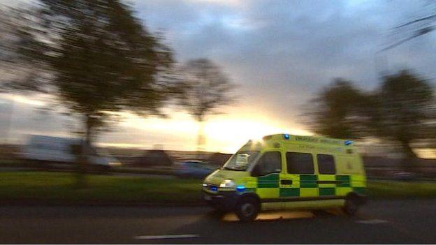 EMAS ambulance