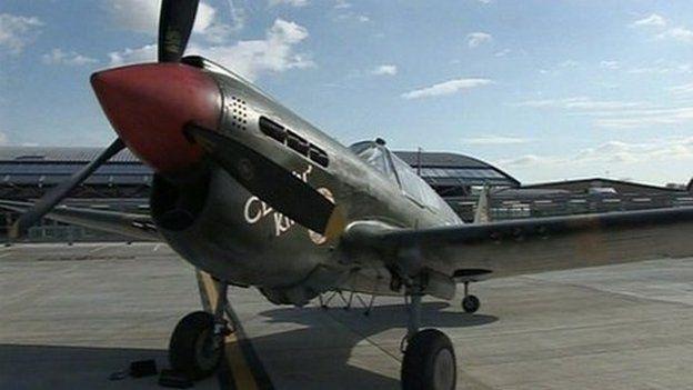 Kittyhawk at Southend Air Show