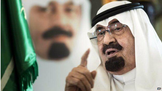Saudi King Abdullah (27/06/14)