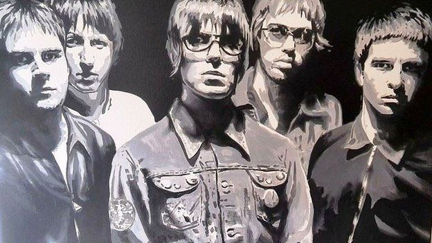 Oasis painting
