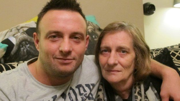 Jamie and his mother Sue