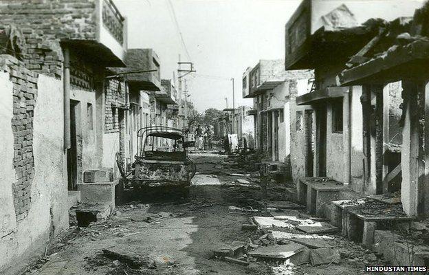 Trilokpuri 1984 riots (file picture)