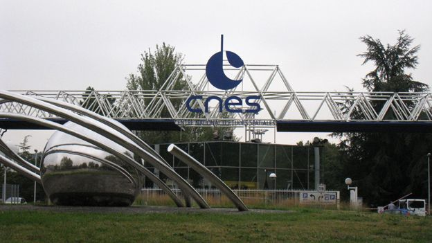 French space centre
