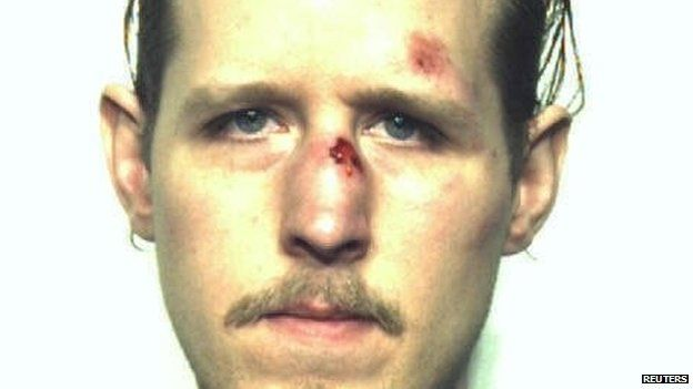 Eric Matthew Frein, 31, is pictured in this October 2014 handout photo obtained by Reuters 31 October 2014
