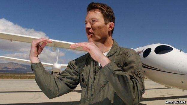Pilot Mike Alsbury