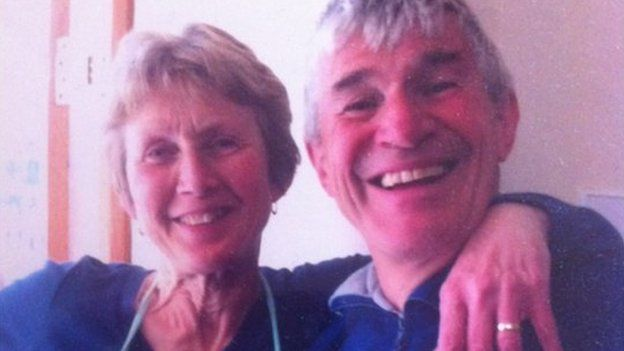 Gwynfor John a Deborah