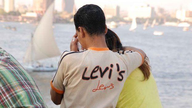 An Egyptian couple