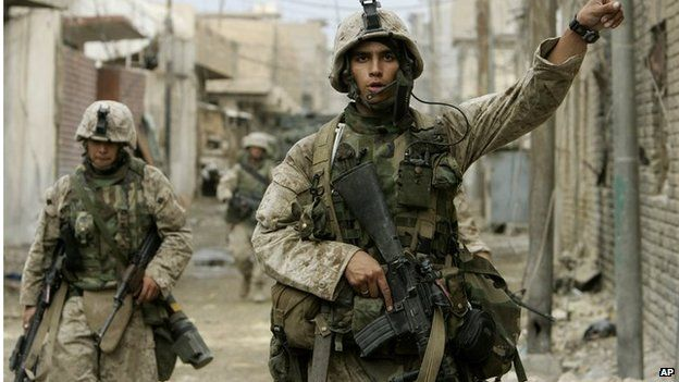 US Marines in Falluja (12/11/14)