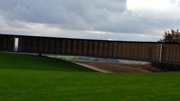 The memorial at Arras