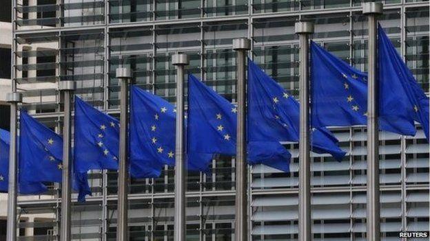 Fflag yr UE