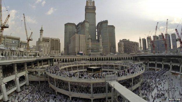 Mecca, the Grand Mosque
