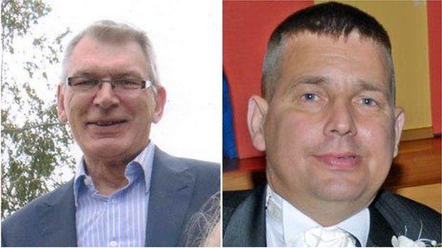 Robert Stuart a Darren Hughes