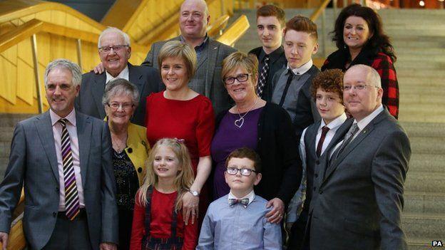 Nicola Sturgeon family