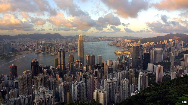 Views over Hong Kong from the Peak