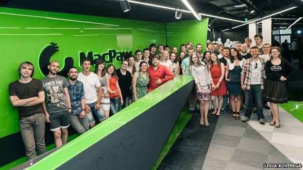Group shot of MacPaw staff