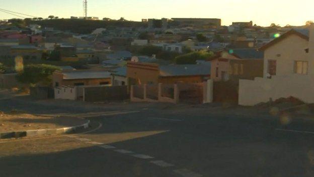 Houses in Windhoek, Namibia