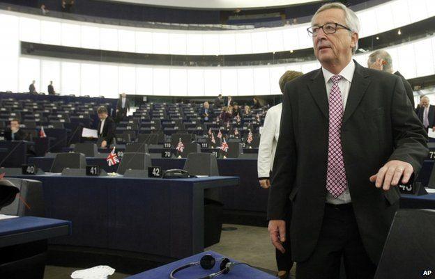 Jean-Claude Juncker (26 Nov)