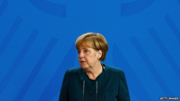 German Chancellor Angela Merkel (November 2014)