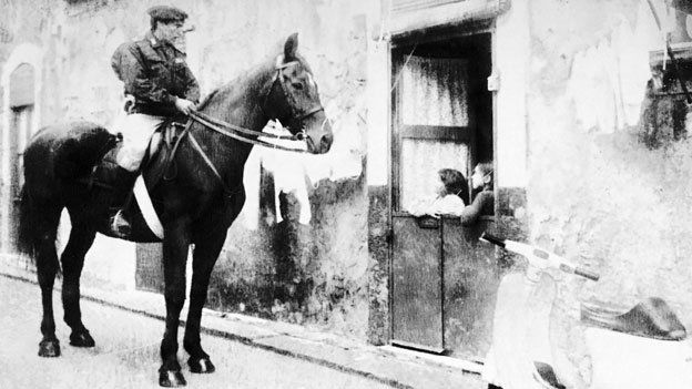 Mauro Prosperi was part of the mounted police