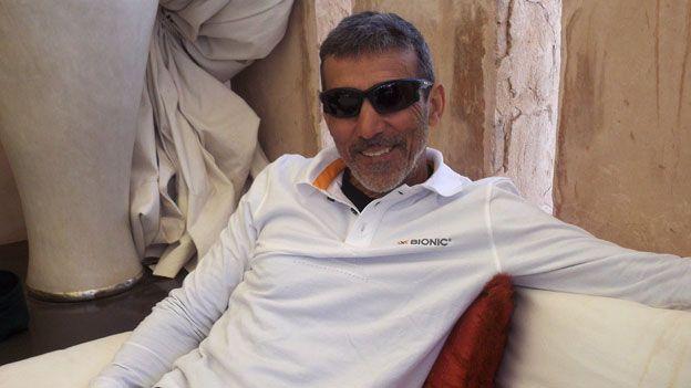 Mauro Prosperi will be 60 next year but is still running