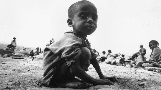 The 1984 Ethiopian famine