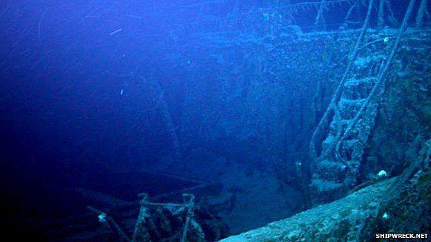 SS Gairsoppa shipwreck