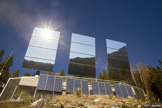 Rjukan - mirrors