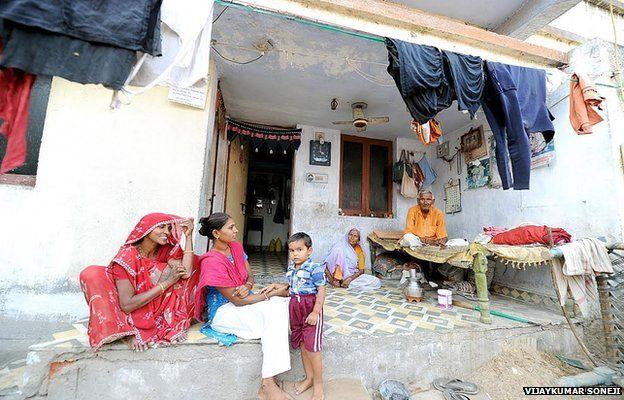 Dalit housing in Ahmedabad