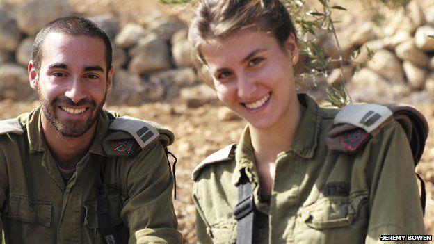 Israeli soldiers Or Maliki and Yam Matir