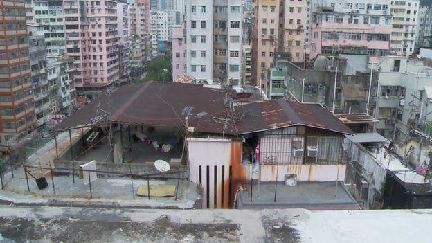 rooftop slum