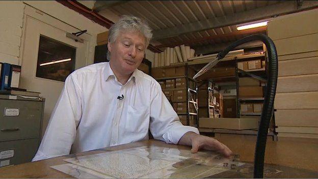 Torquay Museum Director Basil Greenwood