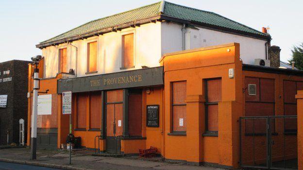 Provenace pub, Colliers Wood, now closed