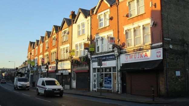 Part of Colliers Wood High Street