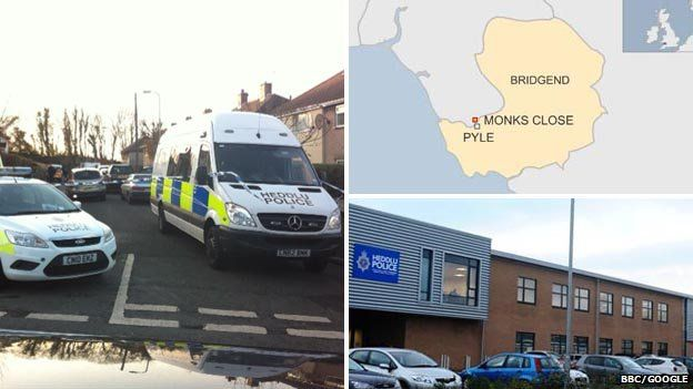 Crime scene map police station composite