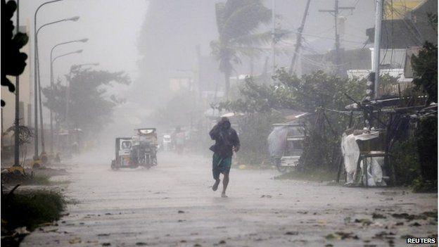 Rains in Atimonan town, Quezon province (8 Dec 2014)