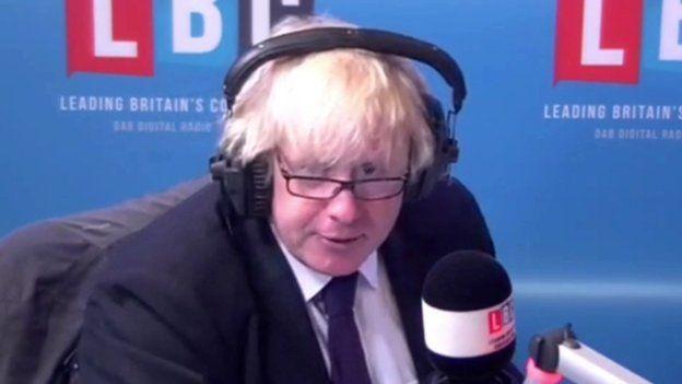 Maer Llundain Boris Johnson