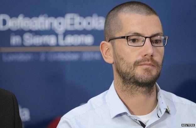 British Ebola survivor William Pooley