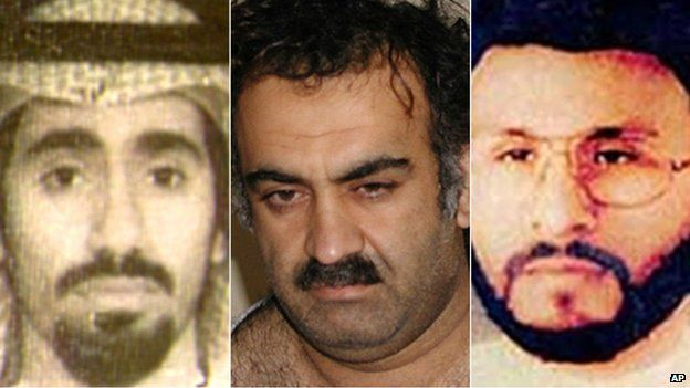Three al-Qaeda men named in the CIA torture reports