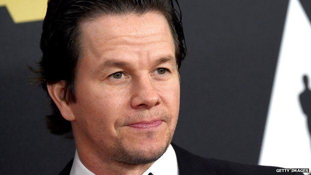 Actor Mark Wahlberg.