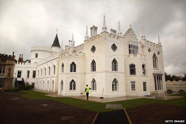 Walpole's Strawberry Hill Home