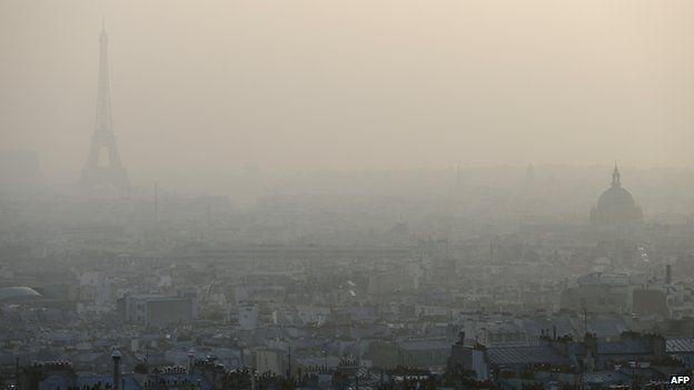 Paris smog, 14 Mar 14