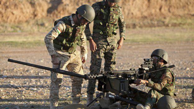 British trainer in Iraq