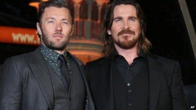 Joel Edgerton and Christian Bale