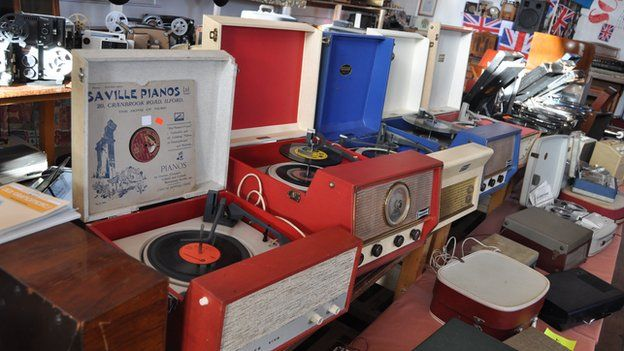 Sounds of the Past, Monks Eleigh - Dansette record players