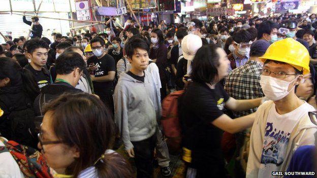 Mongkok street scenes