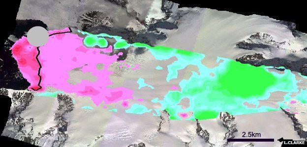 Moider Glacier 1957-2013